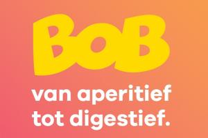 Bob van aperitief tot digestief. Steun de campagne de nieuwe BOB-campagne