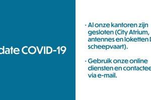 COVID-19 FOD Mobiliteit en Vervoer past zijn dienstverlening aan